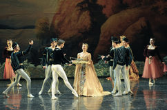 The prince received a gift-ballet Swan Lake Stock Photos