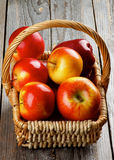 Prince rouge Apples Photos libres de droits