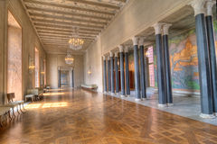 Prince's Gallery in the Stockholm city hall Royalty Free Stock Image