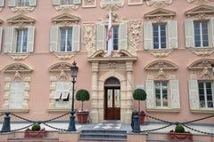 Prince's Guard barracks, Monaco Stock Image