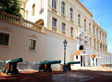 The Prince's Palace in Monaco Stock Image