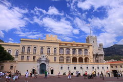 Prince's Palace of Monaco Stock Photo