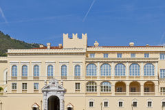 Prince's Palace of Monaco. Stock Images
