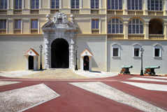 The Prince's Palace of Monaco Stock Photos