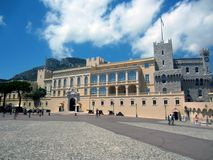 Prince's Palace of Monaco Royalty Free Stock Photography