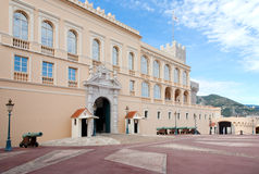 Prince's Palace of Monaco Royalty Free Stock Images