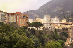 Prince's Palace of Monaco Stock Photography