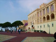 Prince`s Palace of monaco in Monte Carlo Stock Photography