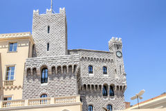 Prince's Palace of Monaco. The official residence of Prince of Monaco Stock Photo
