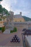 The Prince's palace in Monaco Stock Images