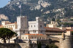Prince`s Palace in Monaco Stock Photo