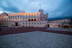 Prince`s Palace in Monaco Royalty Free Stock Image