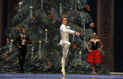 The prince show Dancing-Tableau 3-The Ballet  Nutcracker Royalty Free Stock Image