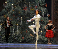 The prince show Dancing-Tableau 3-The Ballet  Nutcracker Stock Images