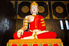 Prince Siddhartha. Siddhartha statue in meditation posture Stock Image