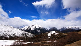 Prince snow mountain  3. Prince snow mountain, the cold wind Royalty Free Stock Image