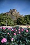 Prince Street Gardens. Edinburgh, Scotland royalty free stock photos