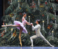The prince to Clara confession-Tableau 3-The Ballet  Nutcracker Stock Photo