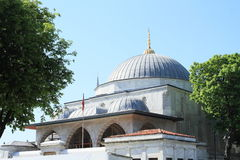 Prince tomb in front of Hagia Sofia in Istanbul Stock Photography