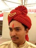 Prince With A Turban de Gujarati images stock