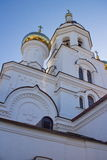 Prince Vladimir's Church in the city of Irkutsk Stock Photography