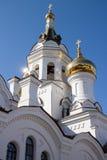 Prince Vladimir's Church in the city of Irkutsk Royalty Free Stock Photo