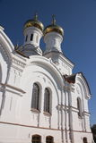Prince Vladimir's Church in the city of Irkutsk Royalty Free Stock Photo