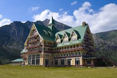 Prince of Wales Hotel Royalty Free Stock Photography