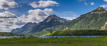 Prince of Wales Hotel. Iconic Prince of Wales Hotel Waterton National Park Alberta Canada stock images