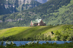 Prince of Wales Hotel. Iconic Prince of Wales Hotel Waterton National Park Alberta Canada Stock Photos