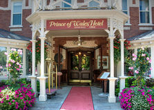Prince of Wales Hotel in Niagara on the Lake Royalty Free Stock Image