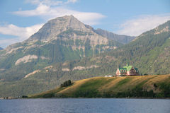 Prince of Wales Hotel - Waterton Lakes Stock Images