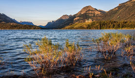Prince of Wales Hotel in Waterton Lakes Stock Image