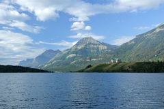Prince Of Wales Hotel - Waterton Lakes National Park Royalty Free Stock Photo