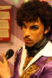 Prince wax figure Stock Image