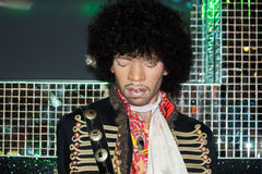 Prince wax figure Stock Images