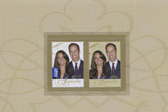 Prince William and Catherine Middleton Royalty Free Stock Photo