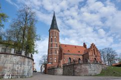 Prince Witold Church, Lithuani Stock Photo