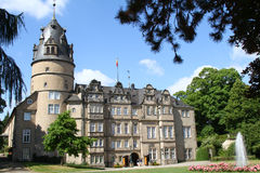 The princely castle of Detmold Stock Photos