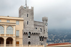 Princely palace of Monaco Stock Photography