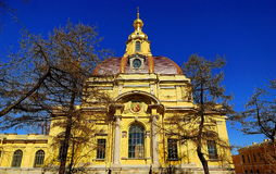 Princely tomb of Russian tsars. Royalty Free Stock Photo