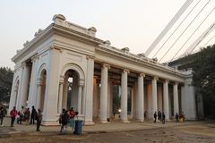 Princep Ghat, Kolkata, Индия стоковые фотографии rf