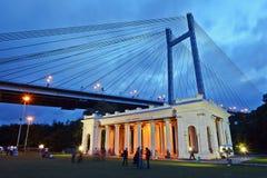 Princep Ghat - Kolkata Fotos de Stock Royalty Free