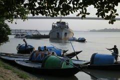 Princep Ghat Kolkata Στοκ Εικόνα