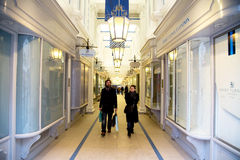 Princes arcade Stock Photo