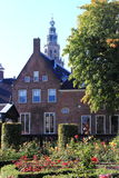 Princes' Court and Martini Tower, Groningen, Holland Stock Images