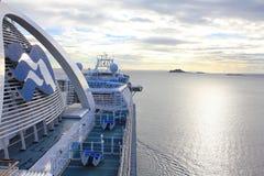 Princes Cruises ship Royalty Free Stock Images