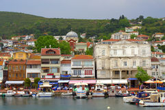 Princes island village Turkey Royalty Free Stock Images