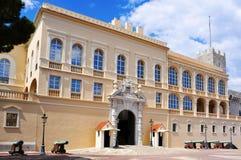 Princes Palace of Monaco in Monaco-Ville, Monaco Royalty Free Stock Photos