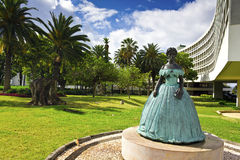 Princes Statue Funchal, Madeira Stock Photo